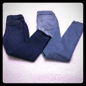 Bundle‼️ girls old navy jeans